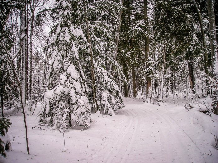 10. In winter, Door County is truly the place to get away from it all.