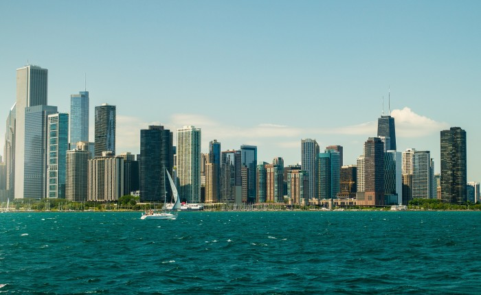 1. In comparison to Chicago, other cities look so small and unsophisticated.