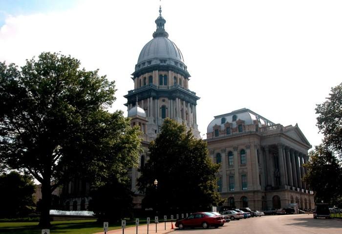 6. Illinois State Capitol