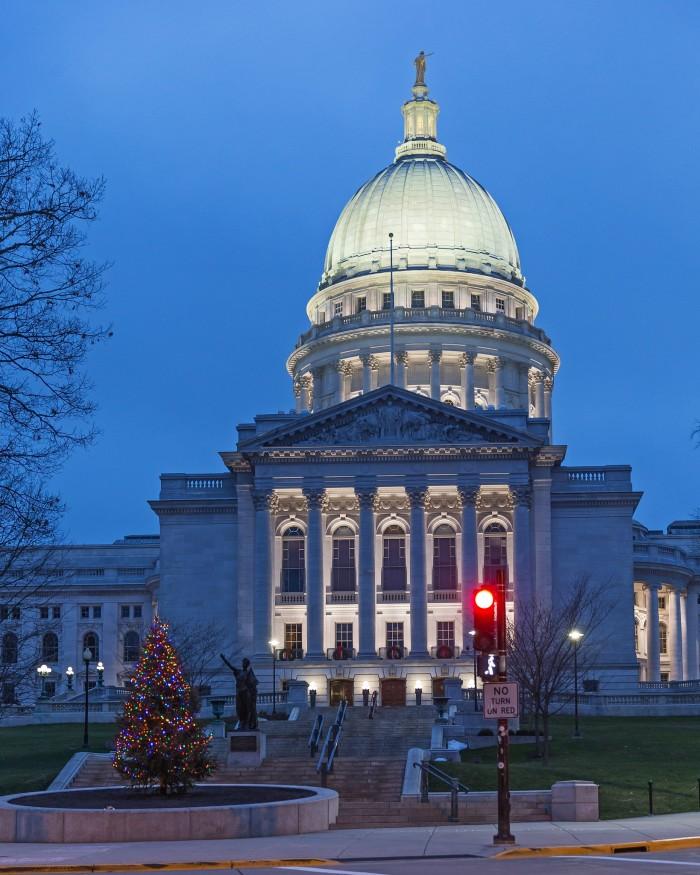 4. Wisconsin Capitol