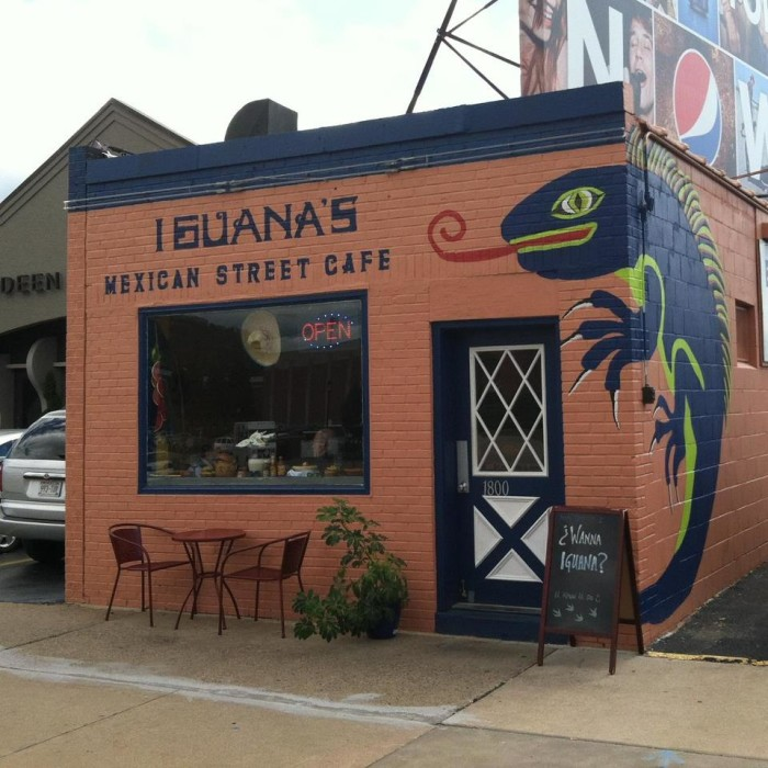 9. Iguana's Mexican Street Cafe