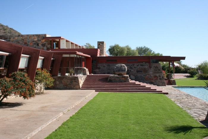 6. Frank Lloyd Wright, one of the best architects of our time, was born here.