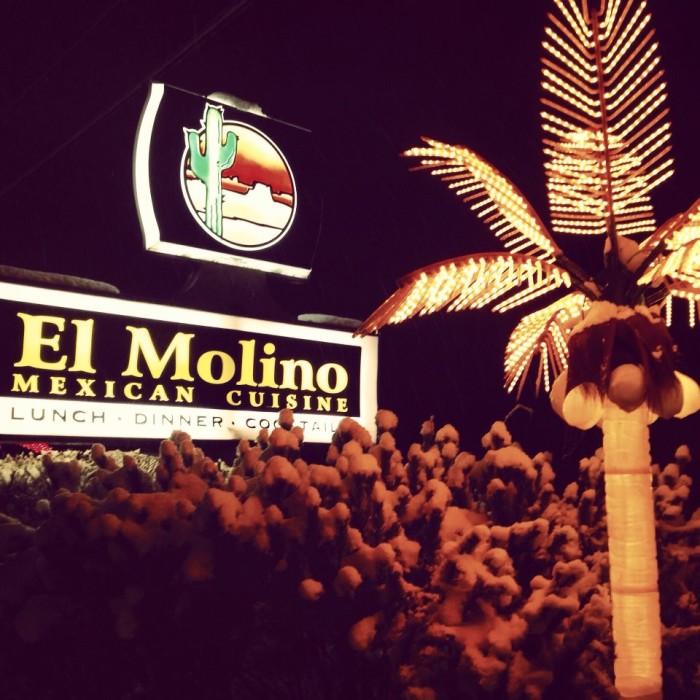 1. El Molino Mexican Restaurant