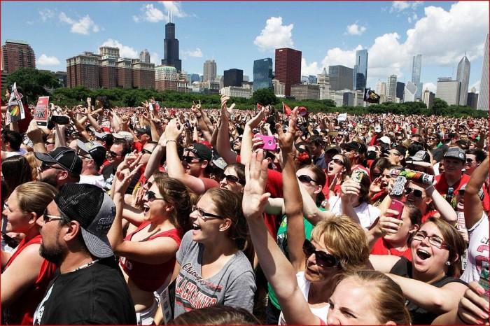 7. Festivals with 500,000 spectators