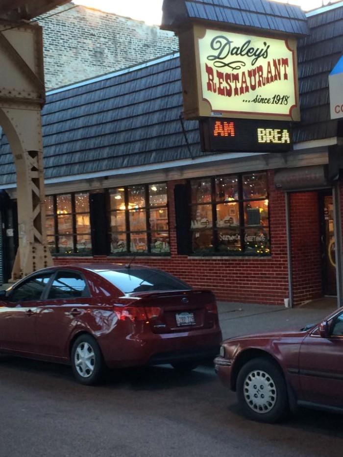 6. Daley's Restaurant