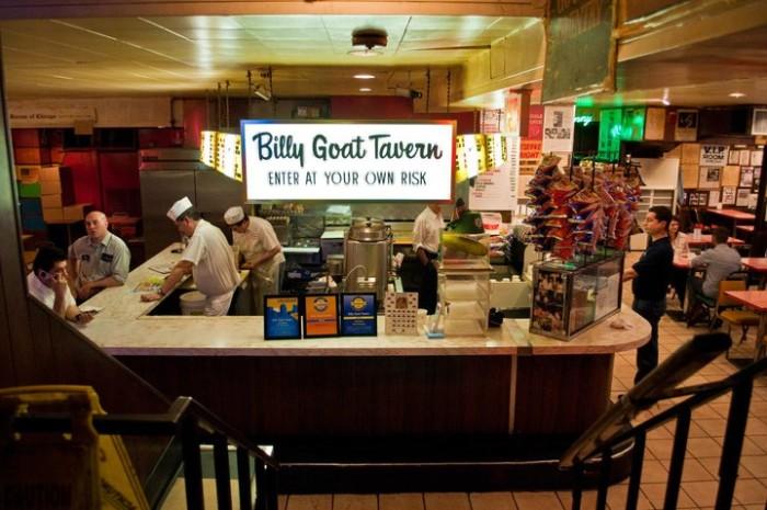 8. Billy Goat Tavern