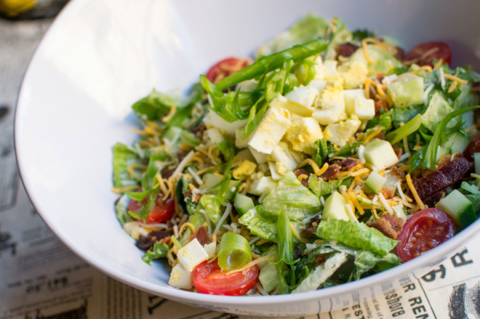 5. And if you care about health, the Code Buster salad is legitimately good.
