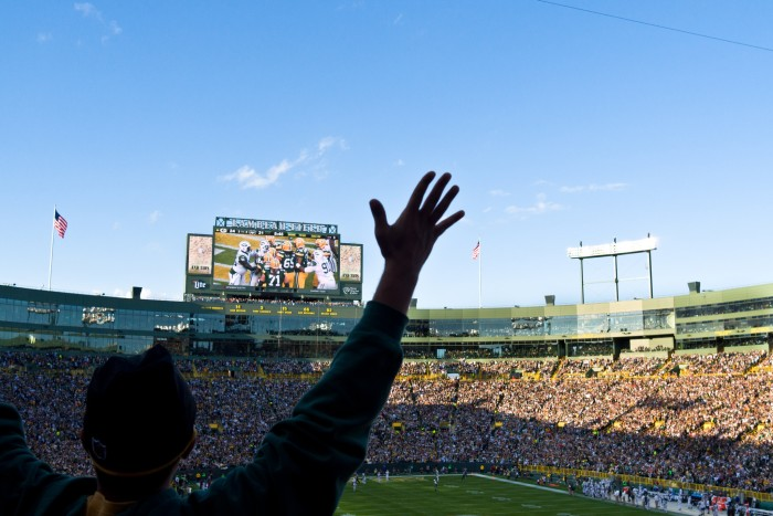 6. Lambeau Field is the best sports venue in the country.