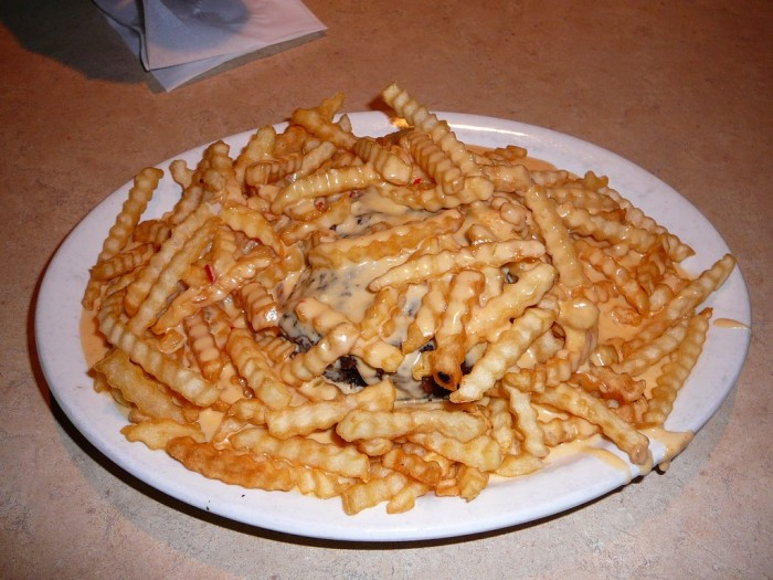 2. Our cuisine is delectable and often involves cheese and fried things.