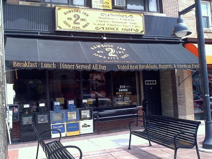 10. Hamburg Inn No. 2, Iowa City