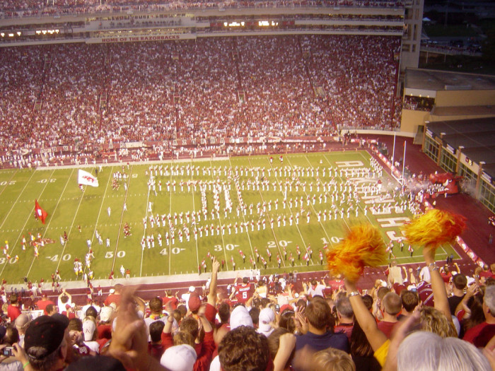 4. Unless you've got tickets to see the hogs, you know to avoid Fayetteville on game day.