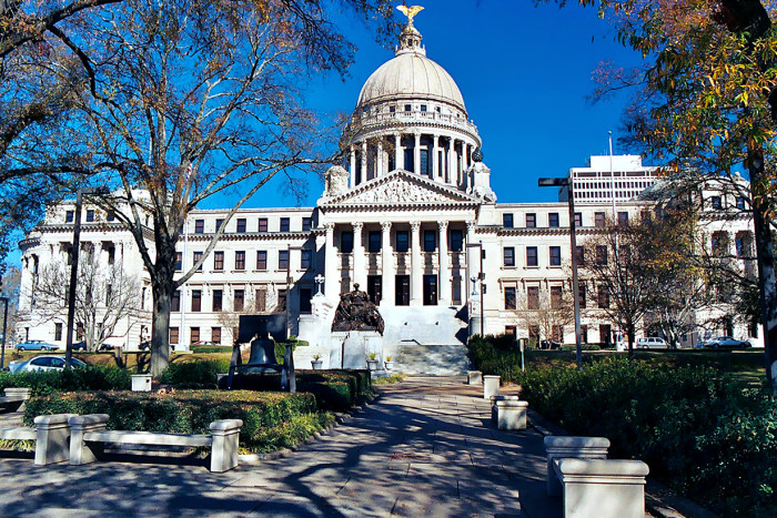 1. Mississippi State Capitol Building, Jackson