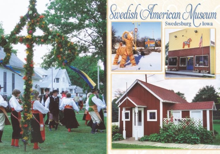 Swedesburg is an unincorporated community in northern Henry County near Mt. Pleasant. Swedesburg may be small, but it has strong Swedish roots, which it proudly displays throughout the town.