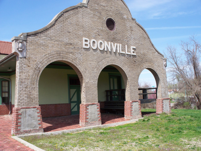 1.	Boonville, Population 8,370