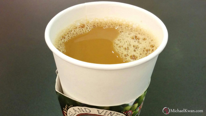 1. First things first, head to your favorite coffee shop to grab a cup of Hawaiian grown coffee – to-go, of course!