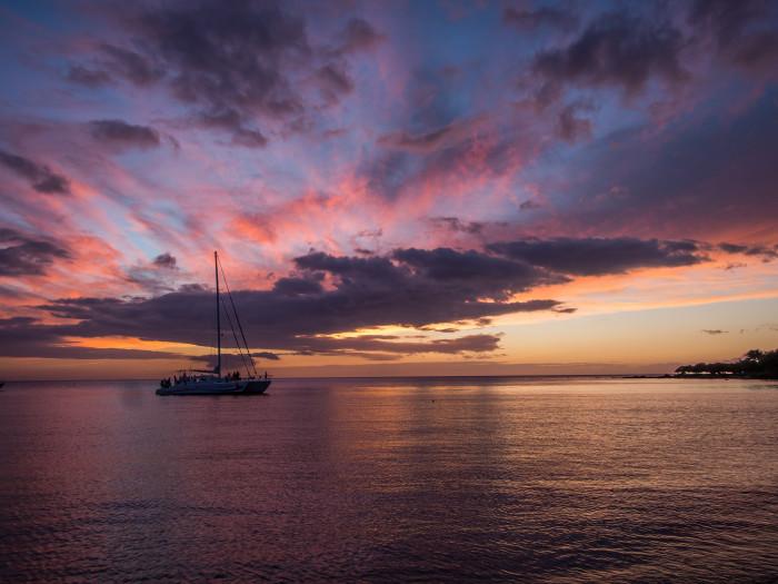 1. Go for a sunset dinner cruise.
