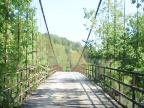 brumley swinging bridge