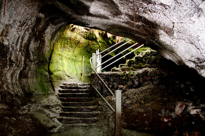 1. Head underground to check out Hawaii Volcanoes National Park's Thurston Lava Tube.