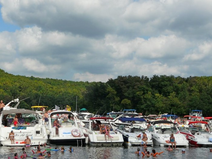 1.	Rent a boat from AAA Party Cove Boat Rentals and cruise the world famous Party Cove at Lake of the Ozarks.