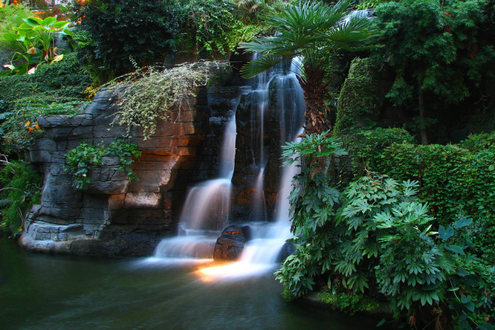 10) AND THE WATERFALLS.