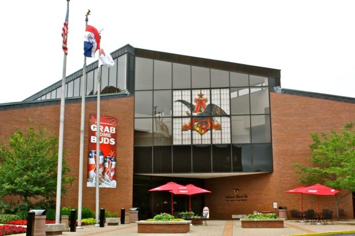 10.Anheuser Busch Brewery, St. Louis