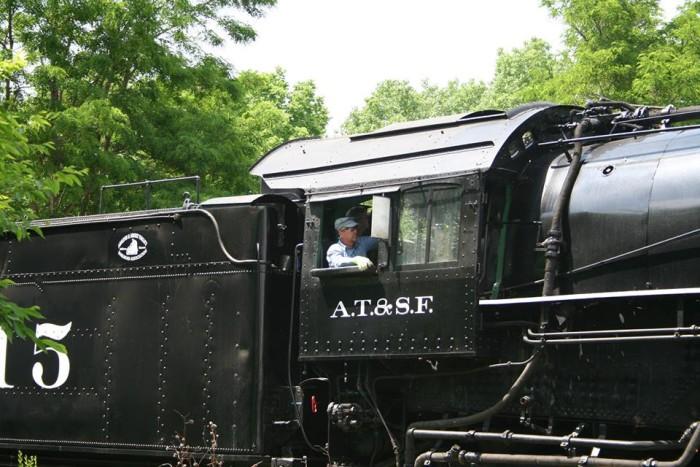 4. Abilene & Smoky Valley Railroad (Abilene)