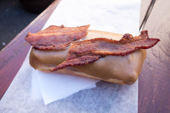 3. You've grown accustomed to weird food combinations like bacon doughnuts and balsamic-flavored ice cream.