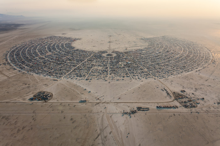 15. As the summer comes to a close, be sure to attend Burning Man.