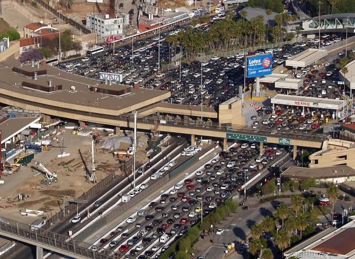 10. San Ysidro Port of Entry in San Diego