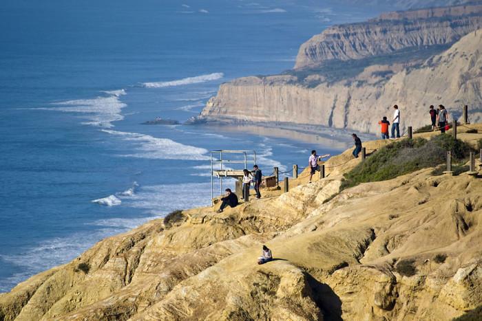 1. Torrey Pines Cliffs in La Jolla
