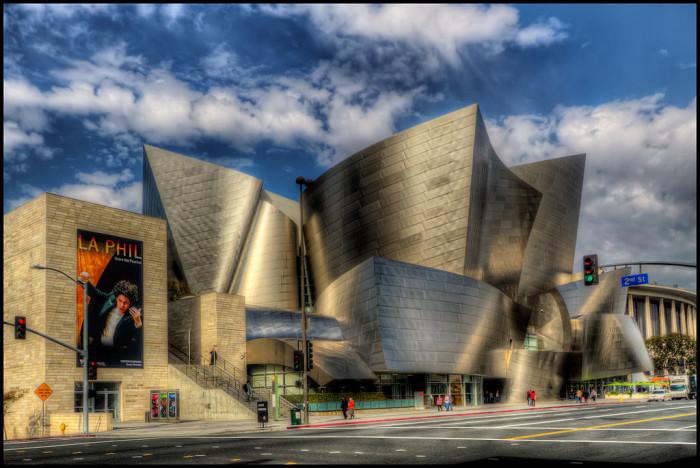 3. Walt Disney Concert Hall in Los Angeles