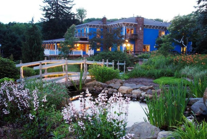 8. Book a weekend stay at a charming bed and breakfast.