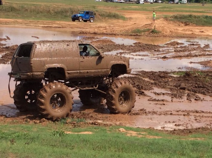 10. How dirty you can get your truck