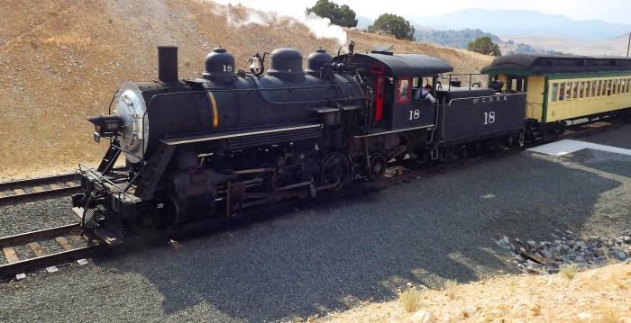 1. Virginia & Truckee Railroad - F Street 1870 V&T Depot, 165 F Street, Virginia City, NV 89440