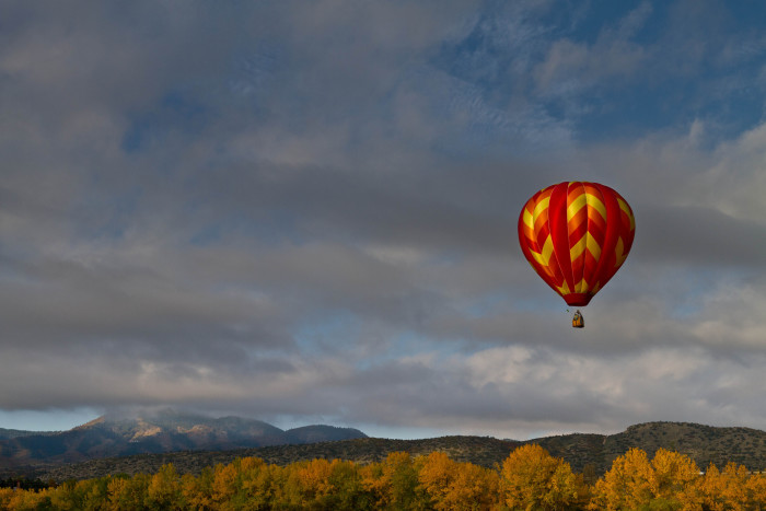 3. Hot Air Balloon Over Georgia