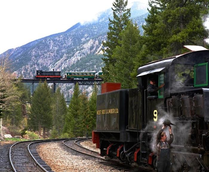 1. Georgetown Loop Railroad (Silver Plume)