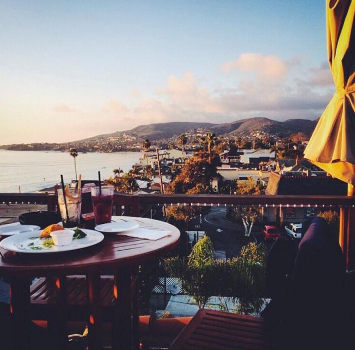 4. The Rooftop Lounge in  Laguna Beach