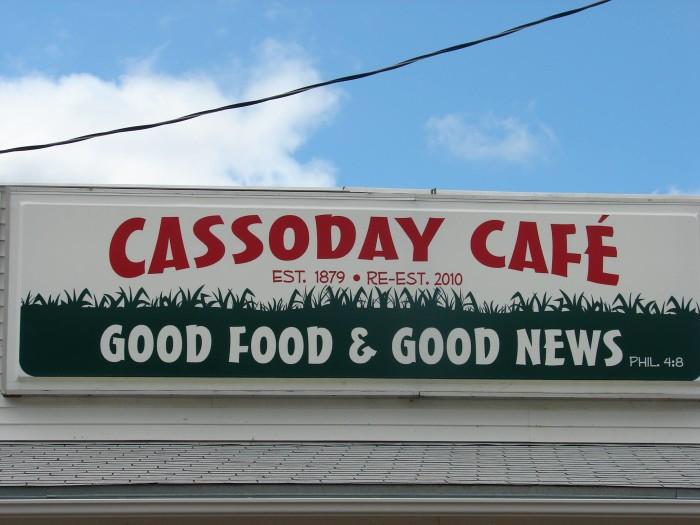12. Cassoday Cafe (Cassoday)
