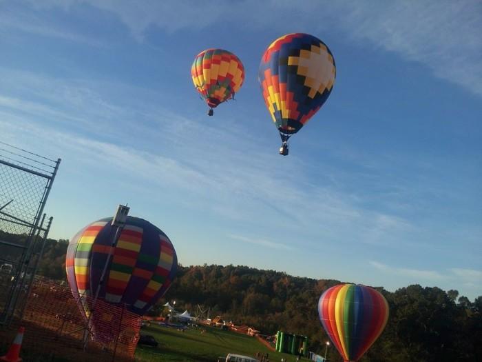 6. Ride in a Hot Air Balloon.