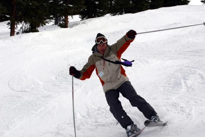5. ...skiing...