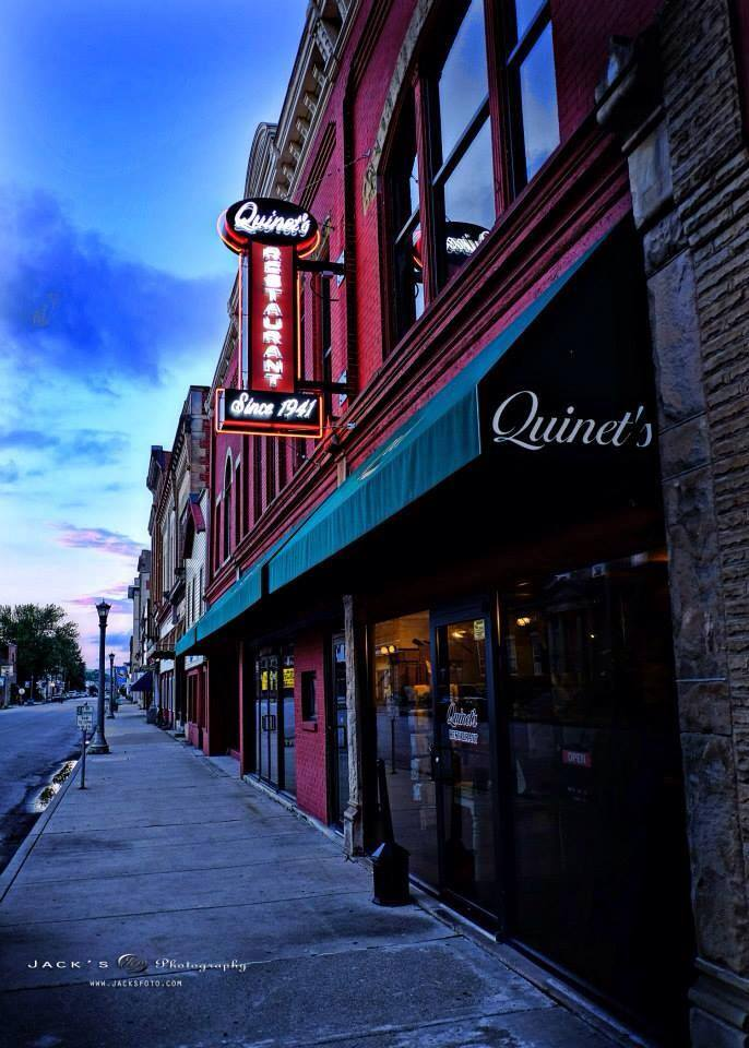 9. Quinet's Court Restaurant