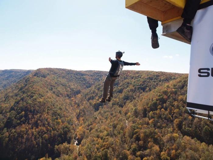 15. BASE Jumping.