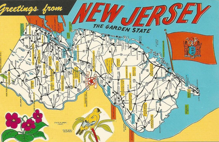 20. New Jersey is underrated.