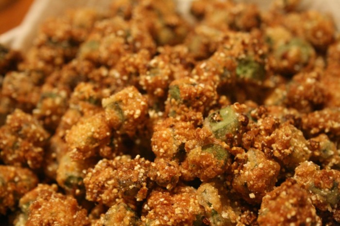2. Fried Okra
