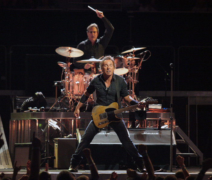 2. We brought the world music legends like Bruce Springsteen, Jon Bon Jovi...