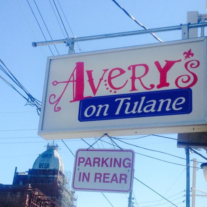 5. Avery's, 2510 Tulane Ave.