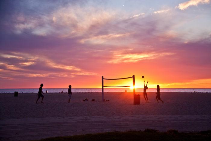 6. Beach Volleyball