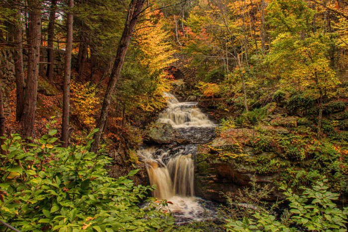 6. Doanes Falls in Royalston feature a series of cascading waterfalls and shady filtered light that would make for stunning, natural photographs.