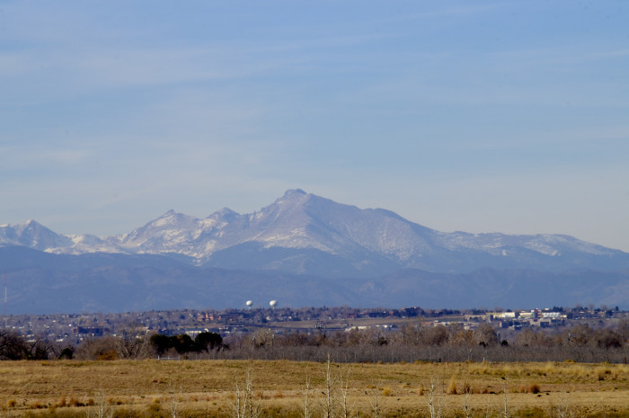 14.) Over 200 peaks are visible from Denver, including 32 14ers.