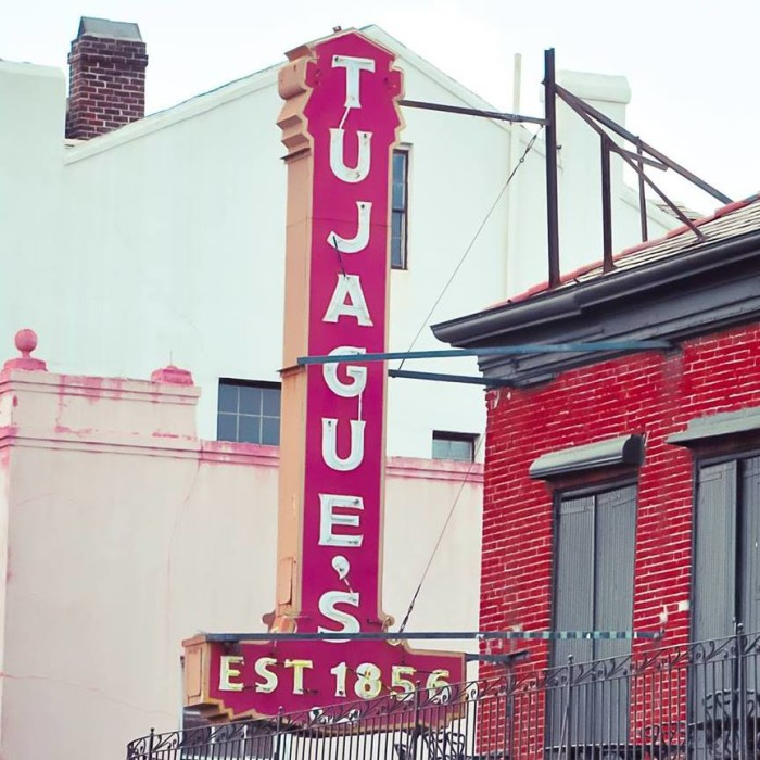 10. Tujague's, New Orleans 1856